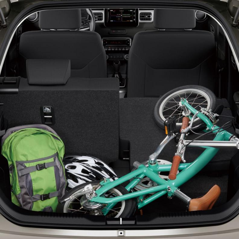 Suzuki Ignis bagagerum